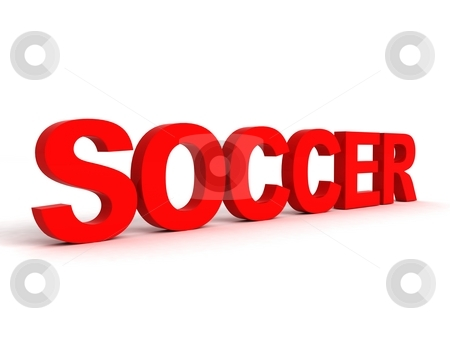 cutcaster-photo-100217381-side-view-of-soccer-word